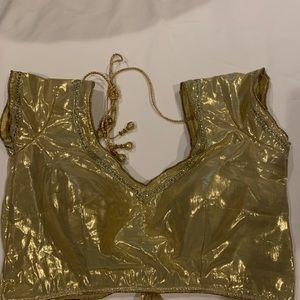 Dresses & Skirts - Golden blouse size 38